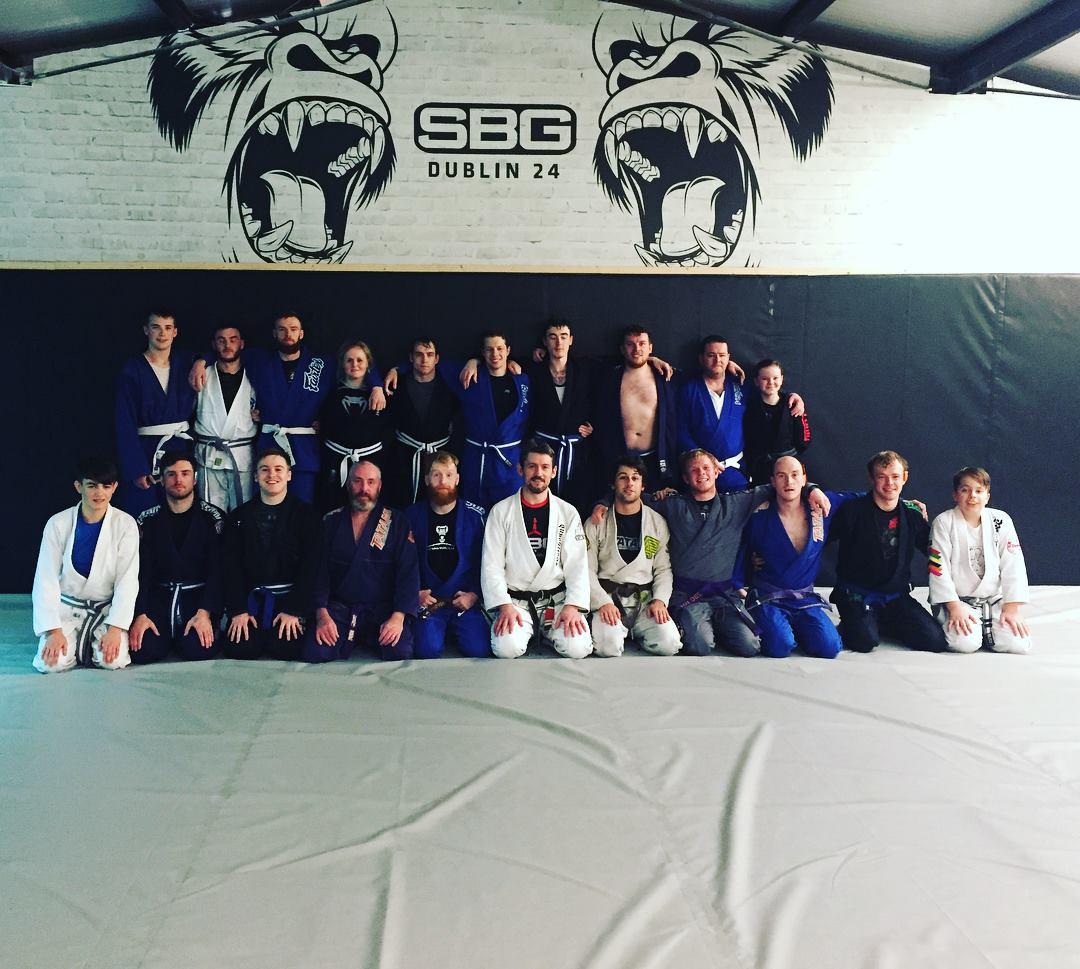 Tom King martial arts seminar in SBG Dublin24