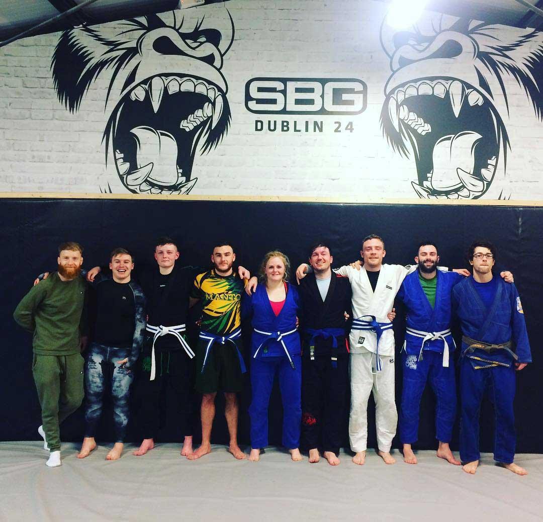 BJJ promotions in SBG Dublin24