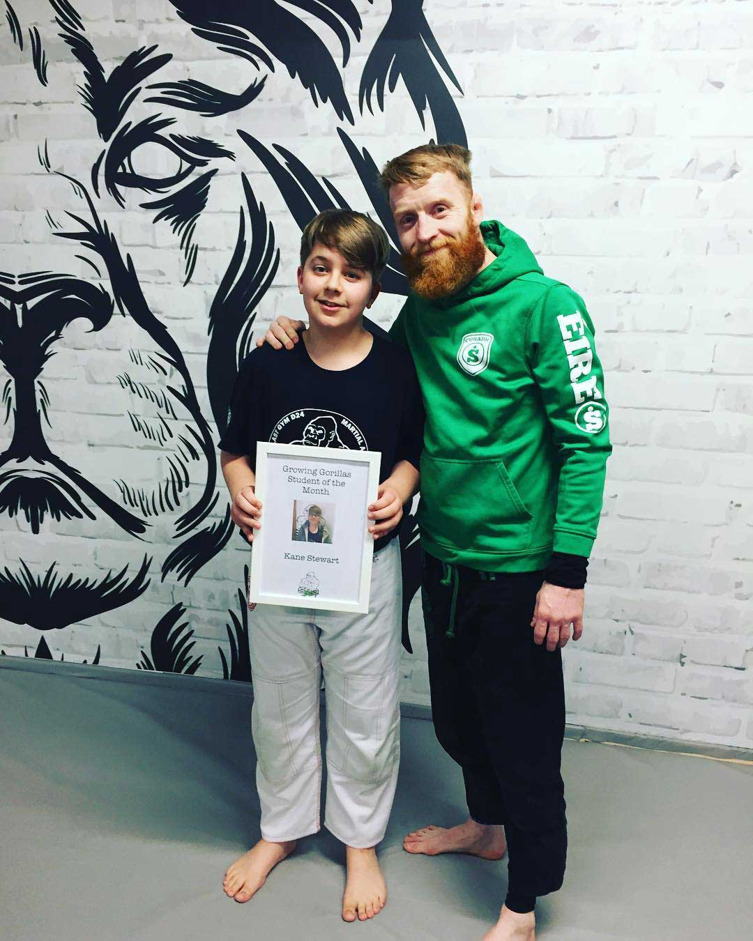 SBG Dublin24 student of the month