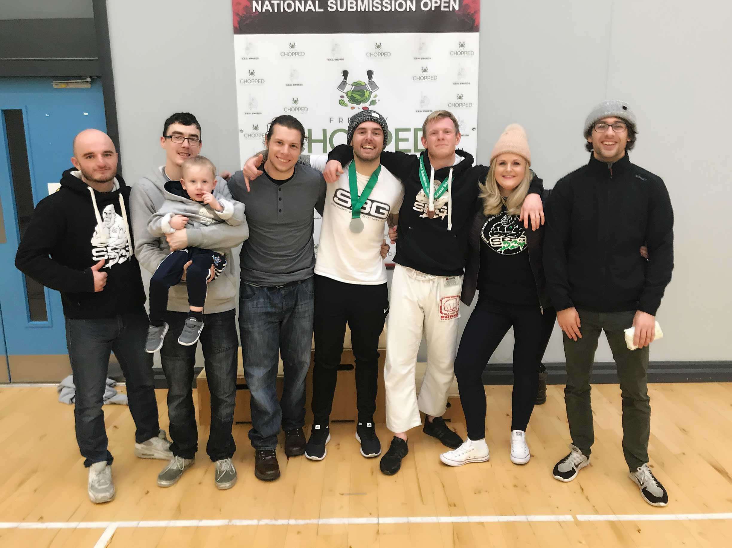 The SBG Dublin24 team at National Submission Open